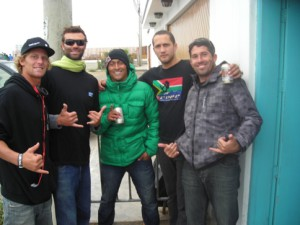 kohl, ramon, me and danelio couto